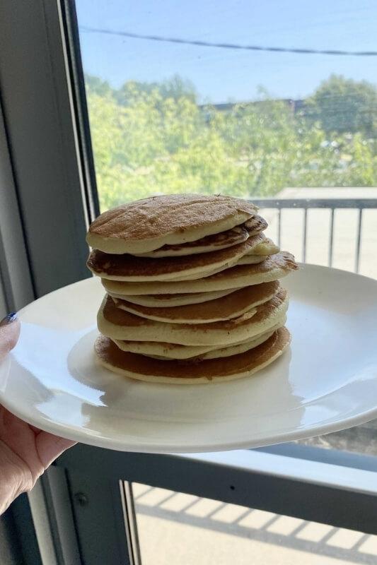 Pancakes Mûrier