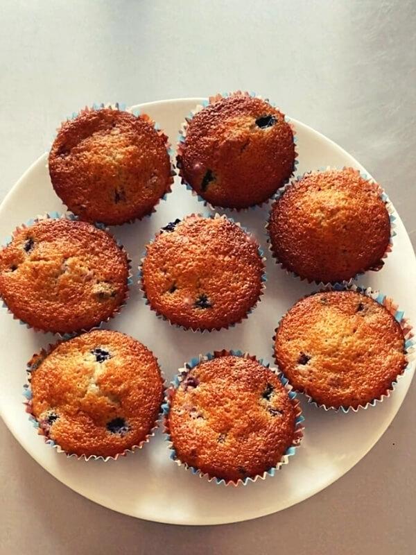 Muffins Mûrier